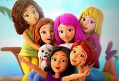 Lego Friends rajzfilm